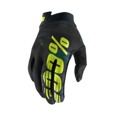 iTRACK 100% Glove Camo Youth
